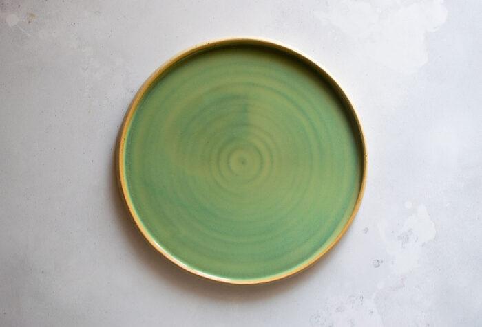 piatto piano verde