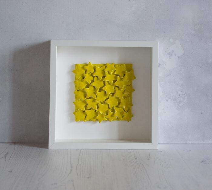 Quadro stelle gialle